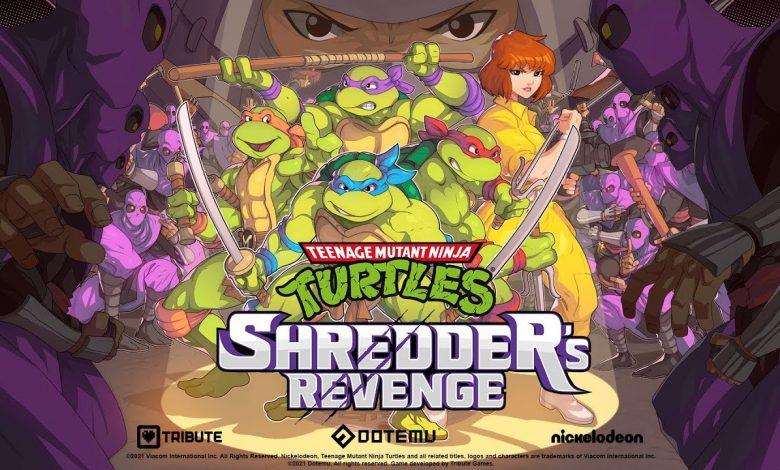 Shredder's Revenge Set For 2022 Release — April O'Neil Revealed As Playable Character