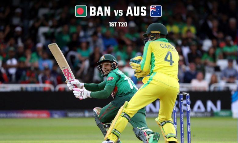 Watch Bangladesh vs Australia live streaming