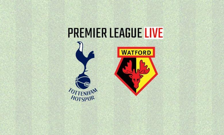 Tottenham Hotspurs vs Watford live streaming