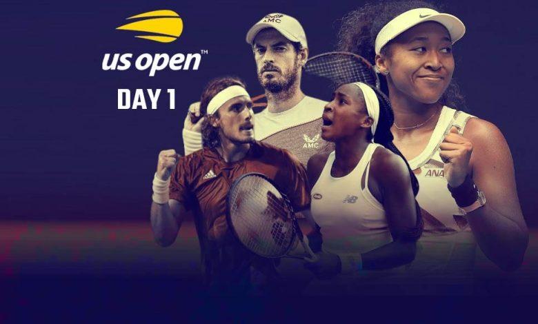 US Open 2021 Day 1 LIVE streaming: Murray, Tsitsipas, Osaka, Gauff