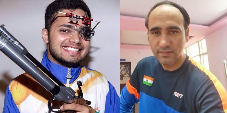 Manish, Singhraj storm into medal round