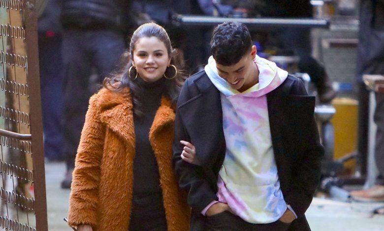 Is Aaron Dominguez Her Boyfriend?