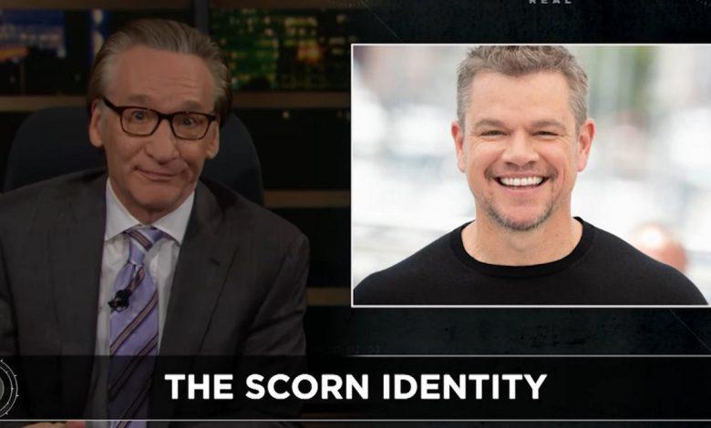 Bill Maher Goes To Bat For Matt Damon After Recent Homophobic Slur Admission