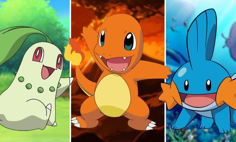 Pokemon: Every Generation's Starter Trio, Ranked