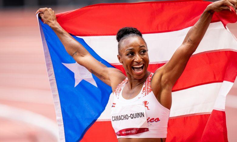 Who Is Jasmine Camacho-Quinn? Meet Puerto Rico's Second-Ever Gold Medalist