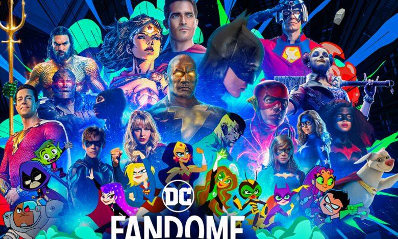 DC FanDome Announces 2021 Lineup