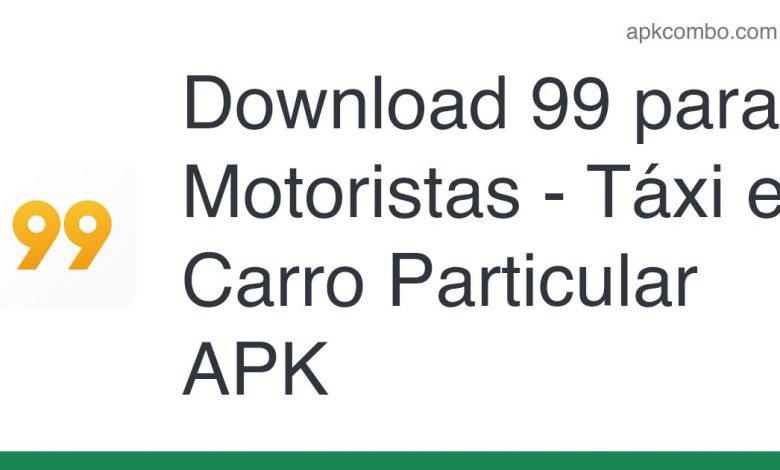 Download 99 para Motoristas - Táxi e Carro Particular APK