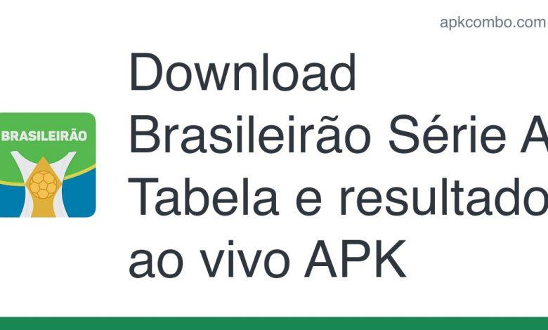 Download Brasileirão Série A - Tabela e resultados ao vivo APK for Android (Free)