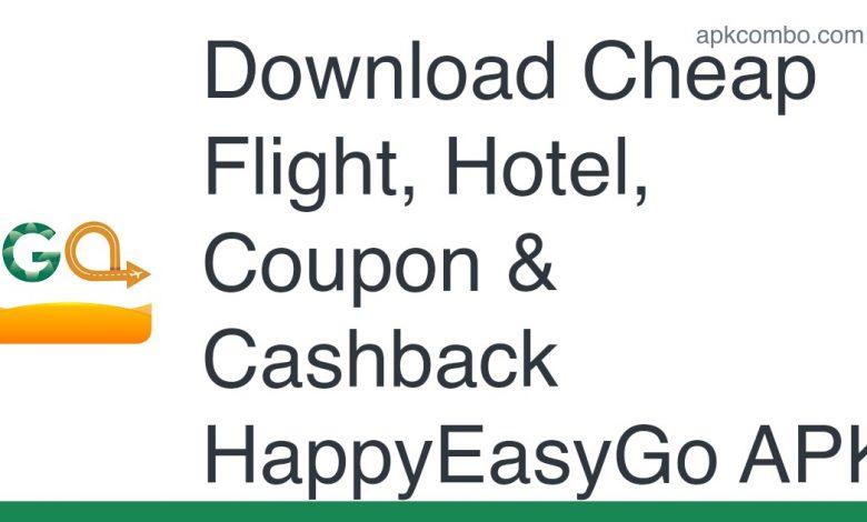 Download Cheap Flight, Hotel, Coupon & Cashback HappyEasyGo APK