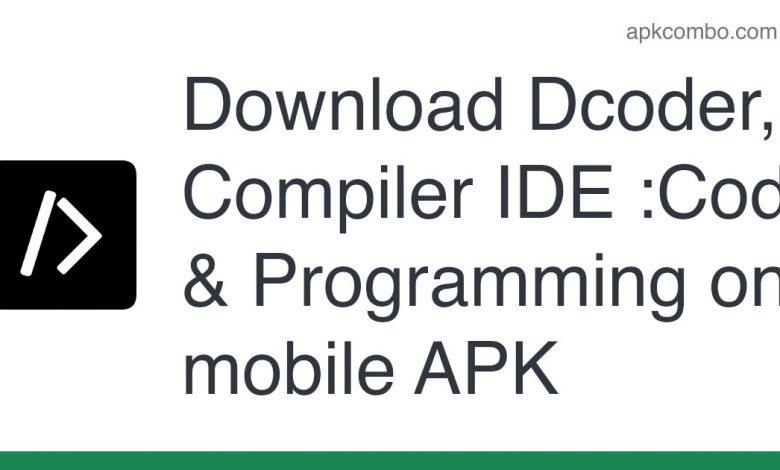 Download Dcoder, Compiler IDE :Code & Programming on mobile APK