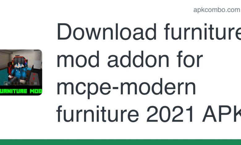 Download furniture mod addon for mcpe-modern furniture 2021 APK