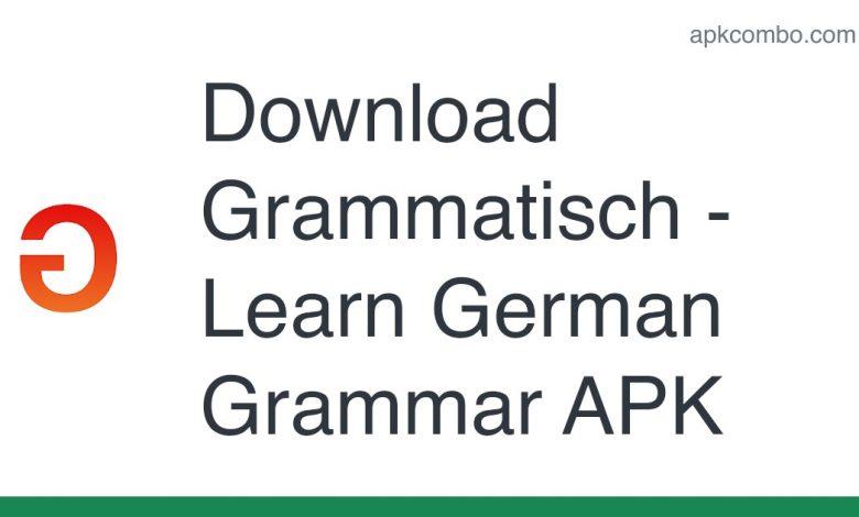 Download Grammatisch - Learn German Grammar APK