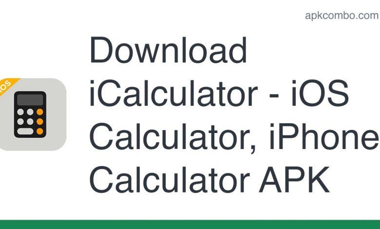 Download iCalculator - iOS Calculator, iPhone Calculator APK