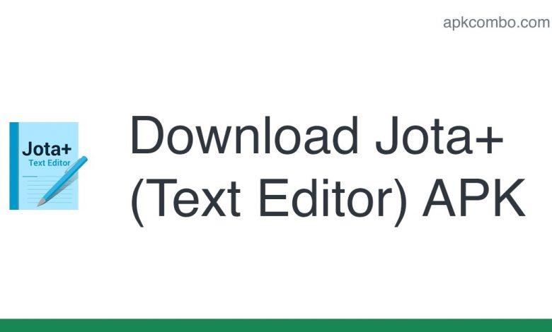 Download Jota+ (Text Editor) APK