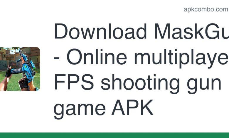 Download MaskGun - Online multiplayer FPS shooting gun game APK