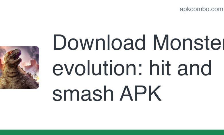 Download Monster evolution: hit and smash APK