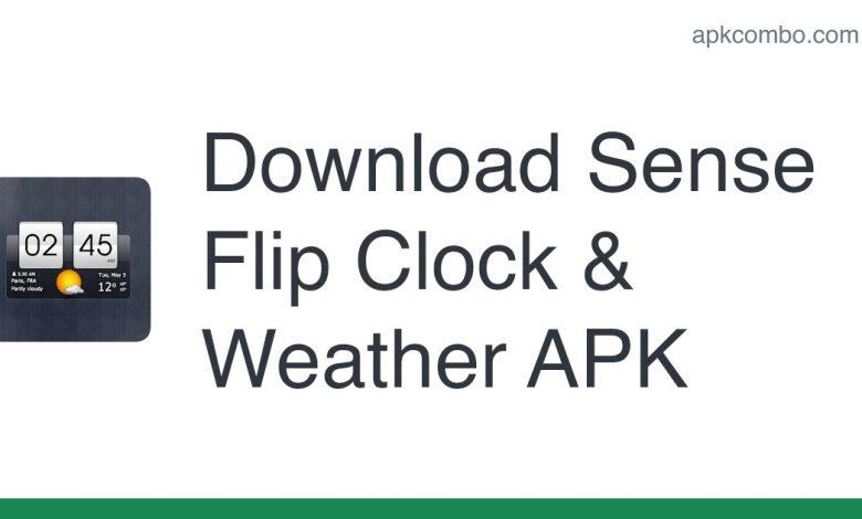 Download Sense Flip Clock & Weather APK