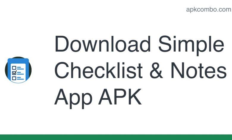 Download Simple Checklist & Notes App APK
