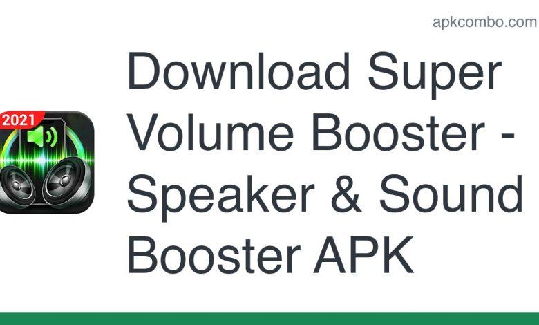 Download Super Volume Booster - Speaker & Sound Booster APK
