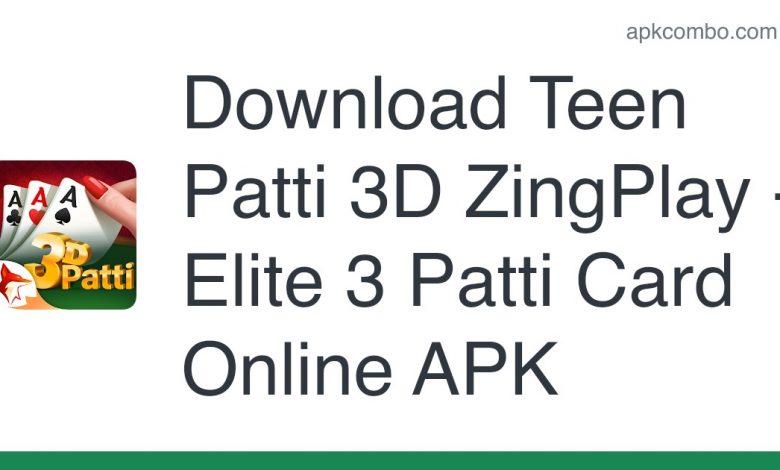 Download Teen Patti 3D ZingPlay