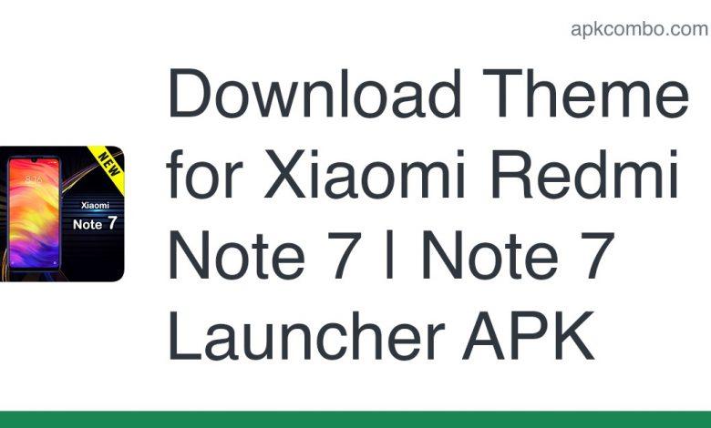 Download Theme for Xiaomi Redmi Note 7