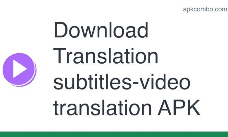 Download Translation subtitles-video translation APK