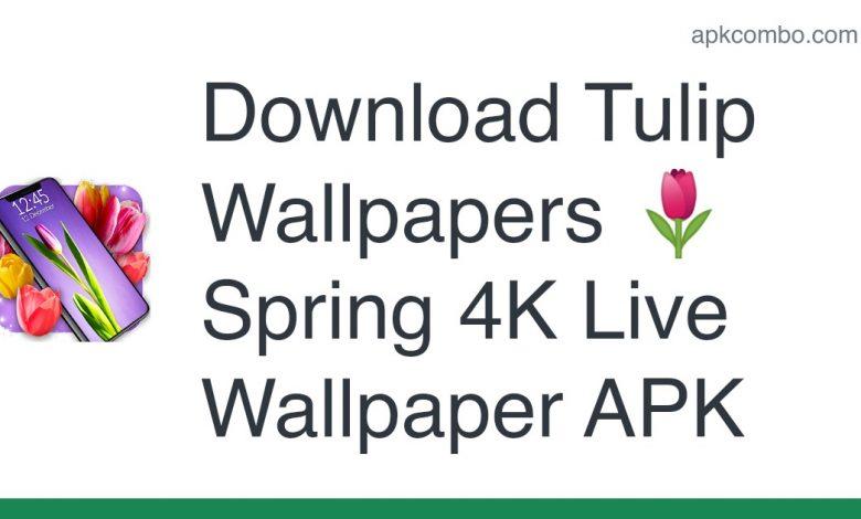 Download Tulip Wallpapers 🌷 Spring 4K Live Wallpaper APK