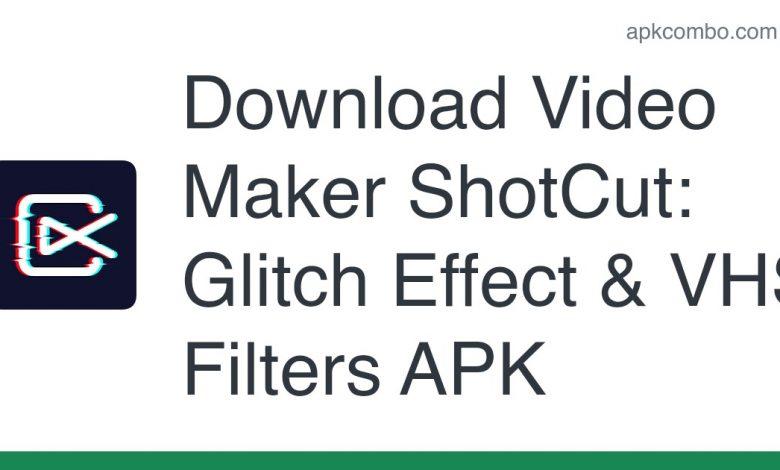 Download Video Maker ShotCut: Glitch Effect & VHS Filters APK