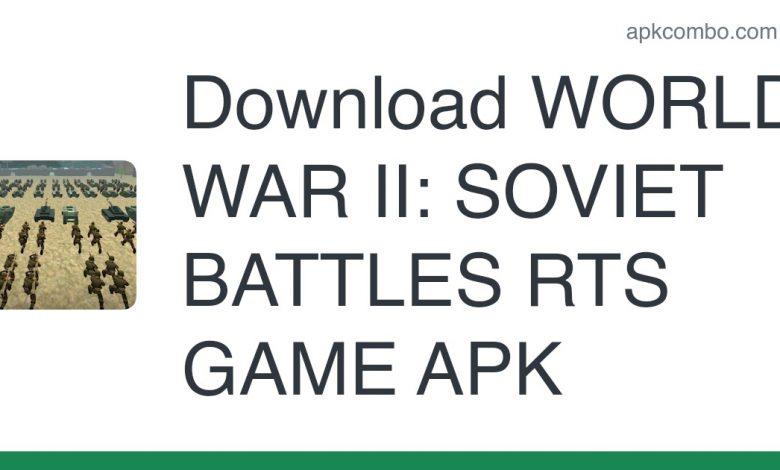 Download WORLD WAR II: SOVIET BATTLES RTS GAME APK