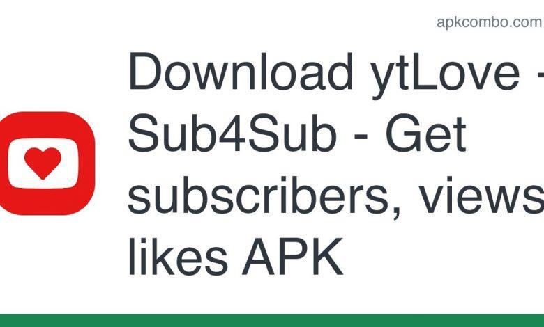 Download ytLove - Sub4Sub - Get subscribers, views, likes APK