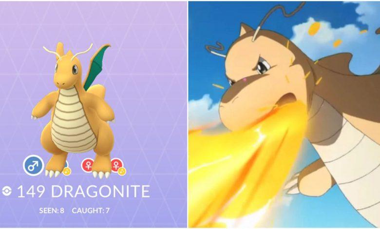 Pokemon GO: Best Moveset For Dragonite (2021)