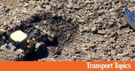 Mudslides Close 46 Miles of I-70 in Colorado