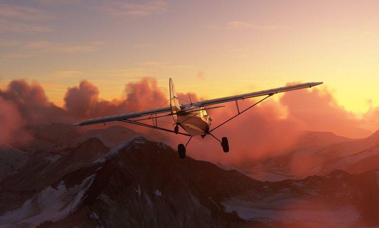 Microsoft Flight Simulator Lets Players Fly Into Hurricane Ida