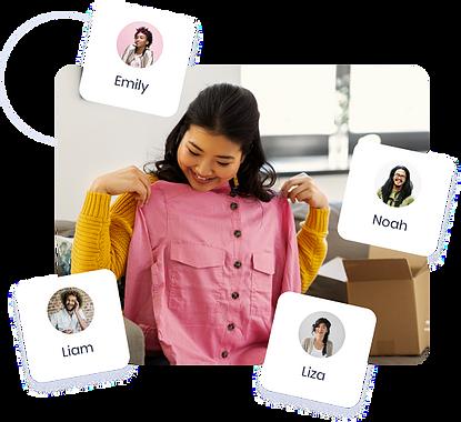 resale, thrift, online shopping, e-commerce, apparel,