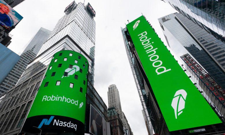 Robinhood shares soar more than 20 percent despite lack of news