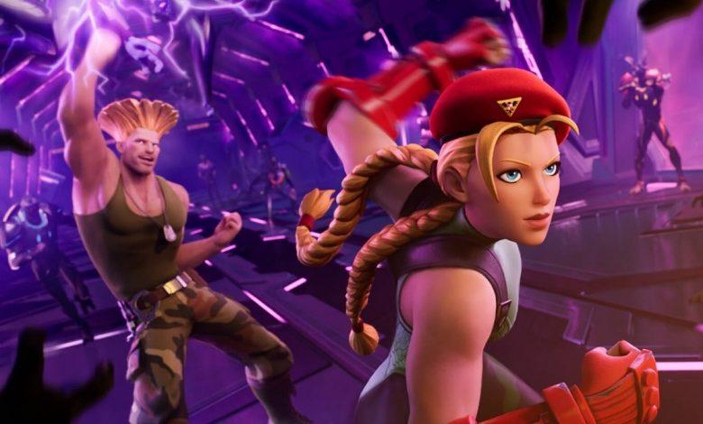Street Fighter's Cammy and Guile join Fortnite • Eurogamer.net