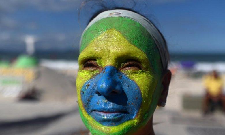 Thousands Take Part In Pro-Bolsonaro Demonstrations In Brazil