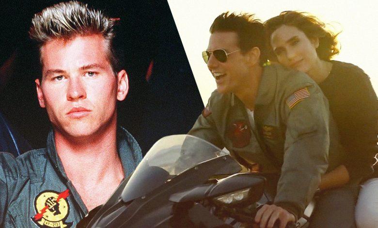 Top Gun: Maverick Val Kilmer Tom Cruise