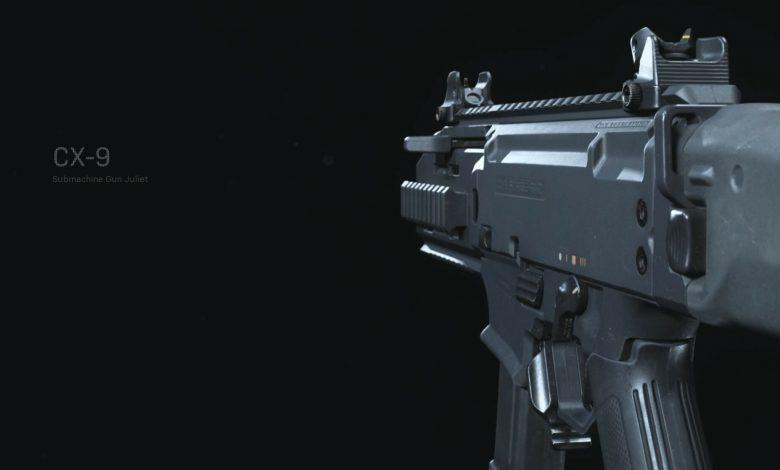 JGOD Reveals Best CX-9 Loadout For Warzone
