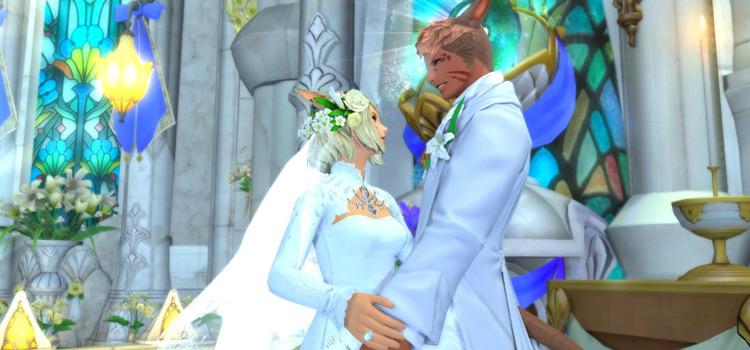 Wedding Ceremony of Eternal Bonding in Final Fantasy XIV