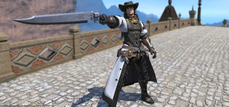 Western-style Cowboy Gunbreaker Glamour / FFXIV