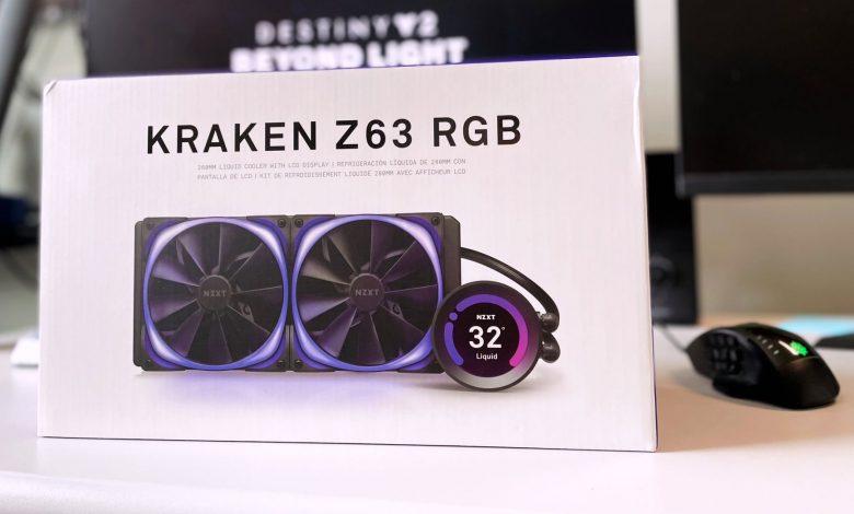 NZXT Kraken Z63 RGB 280mm AIO CPU Cooler Review