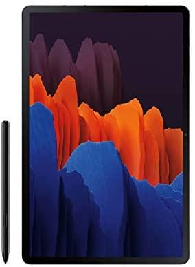 Samsung Galaxy Tab S7+ Wi-Fi, Mystic Black - 128GB (SM-T970NZKAXAR) (Renewed)