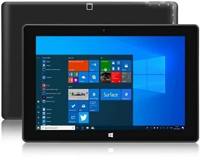 Windows Tablet 10in, Ultra Slim Windows 10 Tablet PC - 4GB RAM 64GB Storage, 5MP and 2MP Cameras, 1280x800 IPS HD Displa