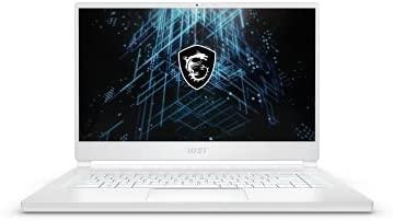 "MSI Stealth 15M Gaming Laptop: 15.6"" 144Hz FHD 1080p Display, Intel Core i7-1185G7, NVIDIA GeForce GTX 1660 Ti, 16GB, 512GB SSD, Thunderbolt 4, WiFi 6, Win10, White (A11SDK-063)"