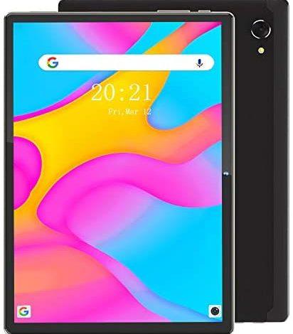 MARVUE Pad M30 Tablet, 10.1 Inch Android 10 Tablets, 3 GB RAM 32 GB ROM Storage,13MP+5MP Dual Camera, WiFi, FM, GPS, 1.6GHZ Octa-Core Processor, 1920x1200 IPS FHD Screen Tablet (Black)