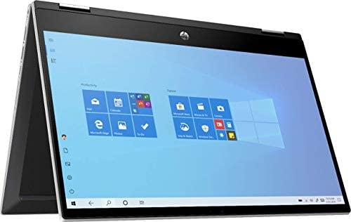 """HP 2020 Newest Pavilion X360 2-in-1 Convertible 14"""" HD Touch-Screen Laptop, 10th Gen Intel Core i3-1005G1, 8GB Ram, 128GB Ssd, Wifi, Webcam, Win 10 S (Renewed)"""