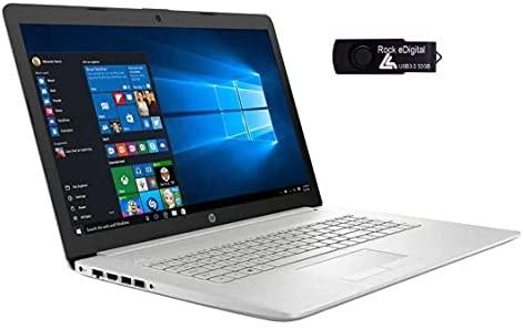 """2021 HP 17.3"""" HD+ Business Laptop PC Intel 11th Gen Quad-Core i5-1135G7 12GB DDR4 RAM 1TB HDD Intel Iris Xe Graphics Backlit KB USB C RJ45 Webcam HDMI DVD Windows 10 w/RE 32GB USB 3.0 Drive"""