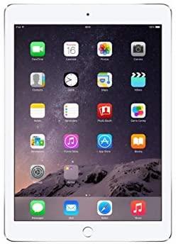 Apple iPad Air 2 MGKM2LL/A (64GB, Wi-Fi, Silver) NEWEST VERSION (Renewed)