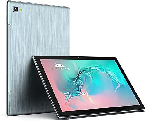 Android Tablet, WINNOVO 10 Inch Tablet, 3GB RAM, 64GB ROM, Octa Core 1.6Ghz Processor, 1920x1200 FHD IPS Display, 6000mAh Battery, 13MP Rear Camera, 5G WiFi, Bluetooth 5.0, GPS, Metal Body, Grey